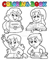 Classroom,Coloring Book,Col...