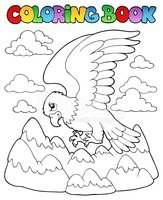 Coloring Book,Eagle - Bird,...