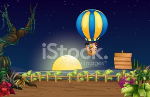 Sky,Hot Air Balloon,Outdoor...