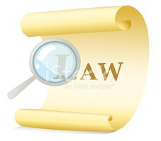 Magnifying Glass,Law,Scroll...