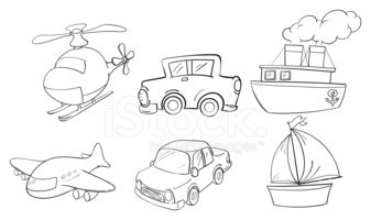 Doodle,Nautical Vessel,Heli...