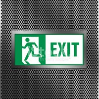 Emergency Exit,Fire Exit Si...