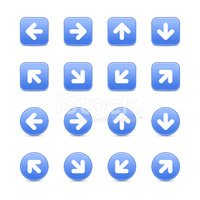 Square Shape,Icon Set,Curso...