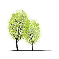 Tree,Vector,Abstract,Image,...