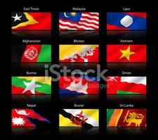 Wide,Flag,Cambodia,Part Of,...