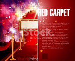 Red Carpet,Theater Marquee,...