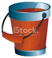 Bucket,Water,Cartoon,Cleani...