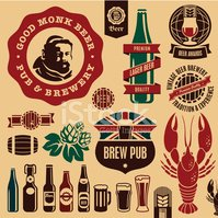 Beer - Alcohol,Hop,Symbol,C...