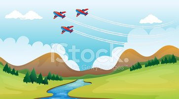 Airplane,Mountain Range,Clo...