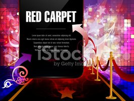 Red Carpet,Invitation,Celeb...