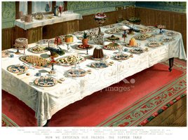 Victorian Supper Table