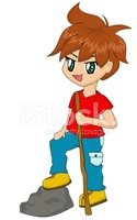 Cartoon,Little Boys,Cute,Ch...