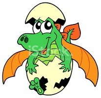 Dragon,Cartoon,Animal Egg,V...