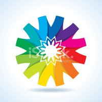 Circle,Multi Colored,Abstra...