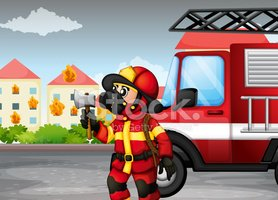 Firefighter,Domestic Staff,...