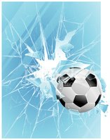 Ball,Sphere,Sport,Cracked,B...