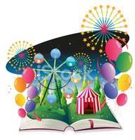Traveling Carnival,Book,Pic...