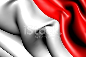 Flag,Indonesia,Three-dimens...