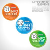 Infographic,Vector,Green Co...