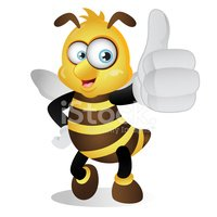 Bee,Thumbs Up,Ilustration,C...