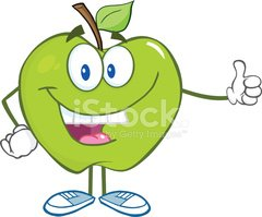 Cartoon,Apple - Fruit,Fruit...