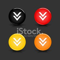 Arrow Symbol,Orange Color,B...
