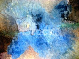Painted Image,Abstract,Gree...