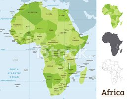 Map,Cartography,Africa,Isla...