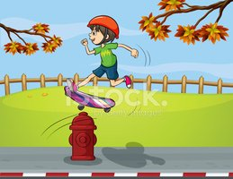 Child,Jumping,Tree,Branch,C...