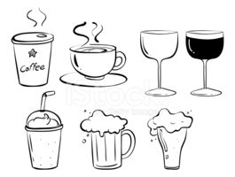 Doodle,Beer - Alcohol,Coffe...