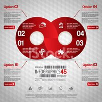Infographic,Red,Symbol,Comp...
