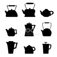Silhouette,Afternoon Tea,Gr...