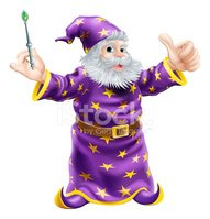 Wizard,Cartoon,Halloween,Tr...