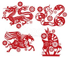 Chinese Zodiac Sign,Dragon,...