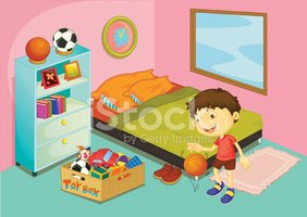 Bedroom,Child,Neat,Domestic...