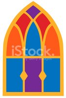 Stained Glass,Church,Window...