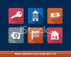 Real Estate,Icon Set,Comput...