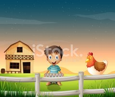 Barn,Fence,Wood - Material,...