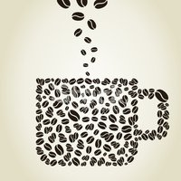 Silhouette,Coffee - Drink,D...
