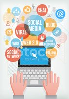 Social Networking,Infograph...