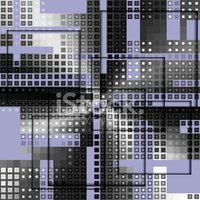 Abstract,Ornate,Pixelated,G...