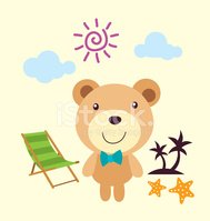 Cartoon,Teddy Bear,Cloud - ...