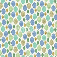 Seamless abstract pattern with mosaic tiled elements