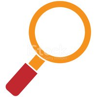 Magnifying Glass,Symbol,Sea...