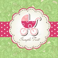 Baby Carriage,Baby,Banner,G...