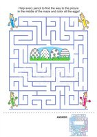 Maze,Assistance,Child,Educa...