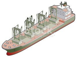 Industrial Ship,Nautical Ve...
