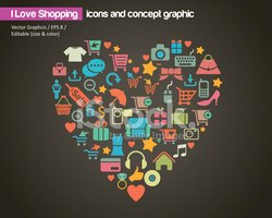 Heart Shape,Data,Clothing,L...