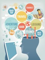 People Traveling,Guide,Retr...
