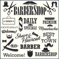 Barber,Barber Shop,Retro Re...